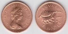 Tuvalu 1 cent 1976