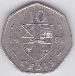A coin reverse