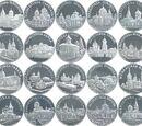 Moldovan 50 leu coin