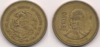 Mexican 1000 Peso Coin Currency Wiki