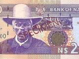 Namibian 200 dollar banknote