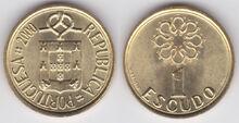 Portugal 1 escudo 2000