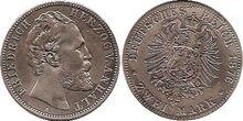 Anhalt 2 mark 1876