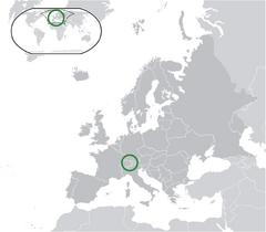 Location Liechtenstein Europe