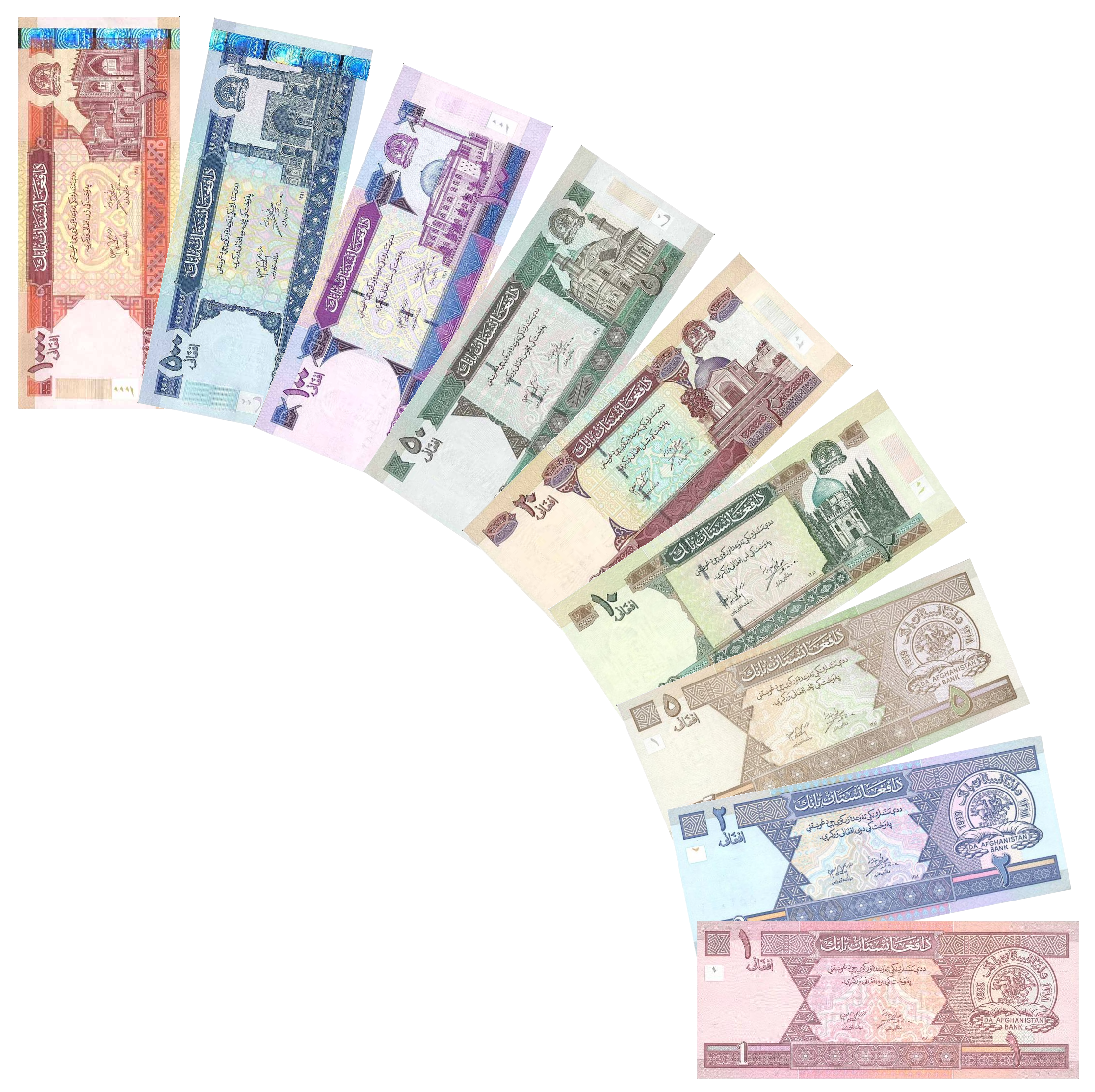 Banknotes Coins