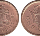 Barbadian 1 cent coin