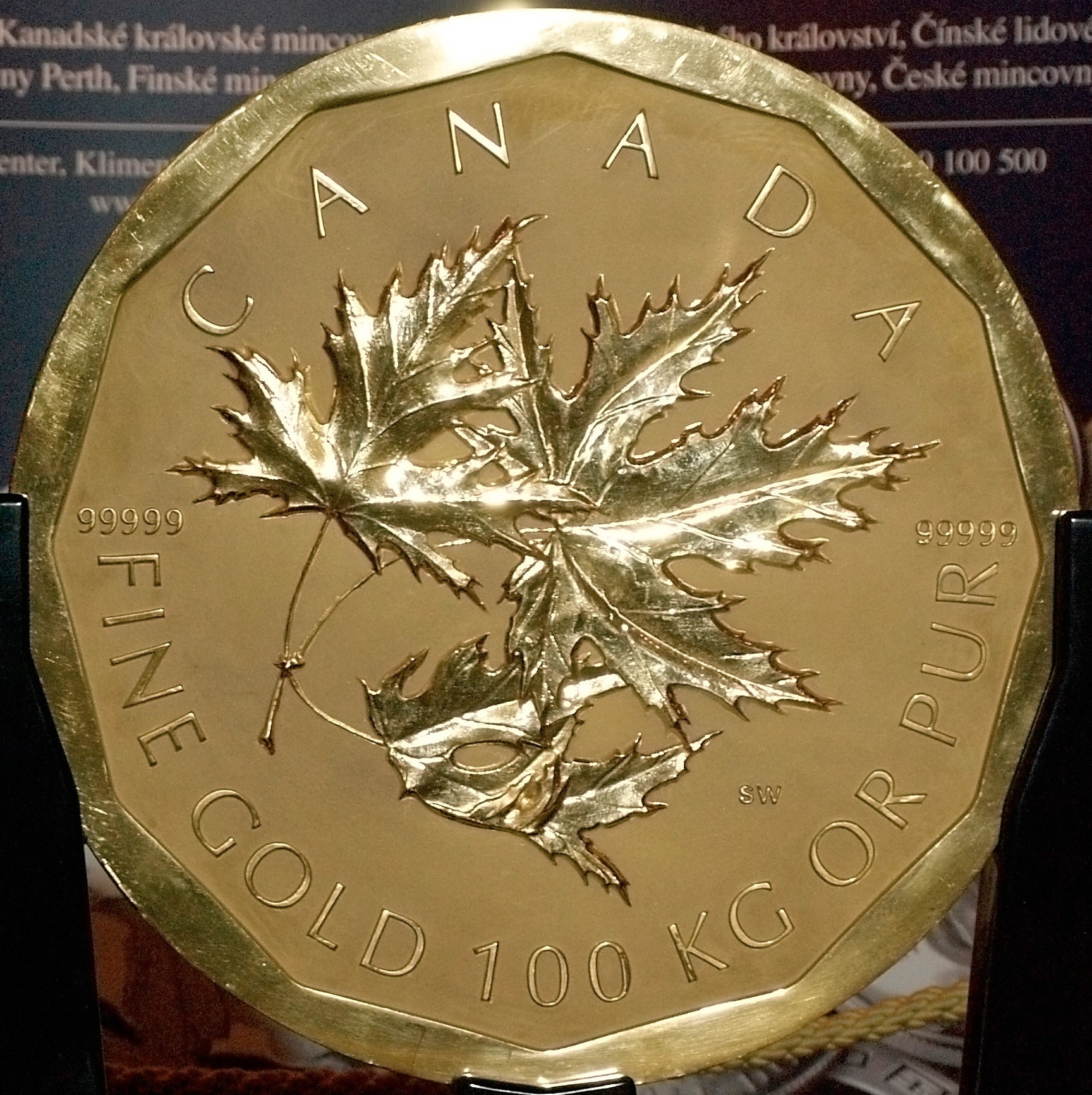 Canadian 1 000 000 Dollar Coin Currency Wiki Fandom Powered By Wikia