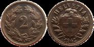 Switzerland 2 cts 1942