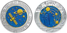 Austria 25 euros 2015 cosmology