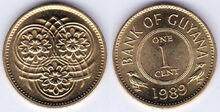 Guyana 1 cent 1989