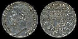 Liechtenstein 1 frank 1924