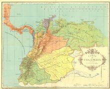 Divisiones coloniales 1538