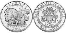 2011 $1 Army coin