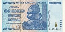 Zimbabwe $100 trillion 2009 Obverse