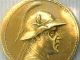 Greco-Bactrian 20 stater coin