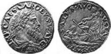 Charles V Milan testone Salute