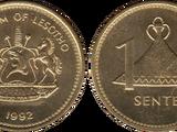 Lesotho 1 sente coin