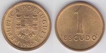 Portugal 1 escudo 1982