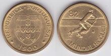 Portugal 1 escudo 1982 RHWC
