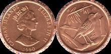 Cayman Islands 1 cent 1990