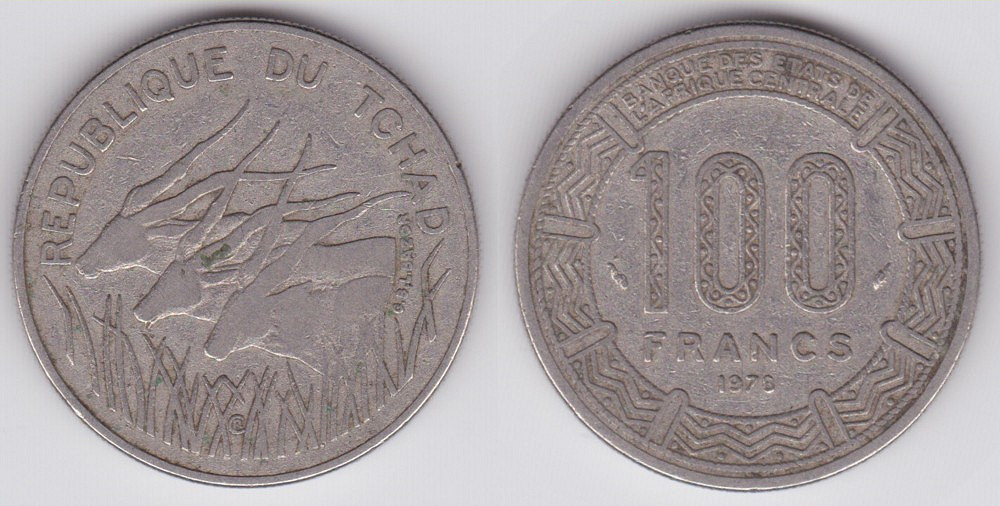 Chadian 100 Franc Coin Currency Wiki Fandom Powered By