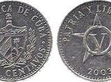 Cuban 5 centavo coin (peso)