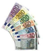 Euro banknotes, First series