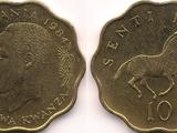 Tanzanian 10 senti coin