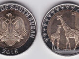 South Sudanese 1 pound coin