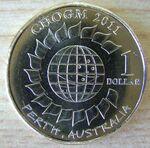 AU $1 CHOGM2011