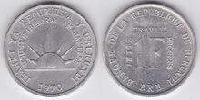 Burundi 1 franc 1970
