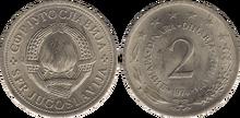 Yugoslavia 2 dinara 1974