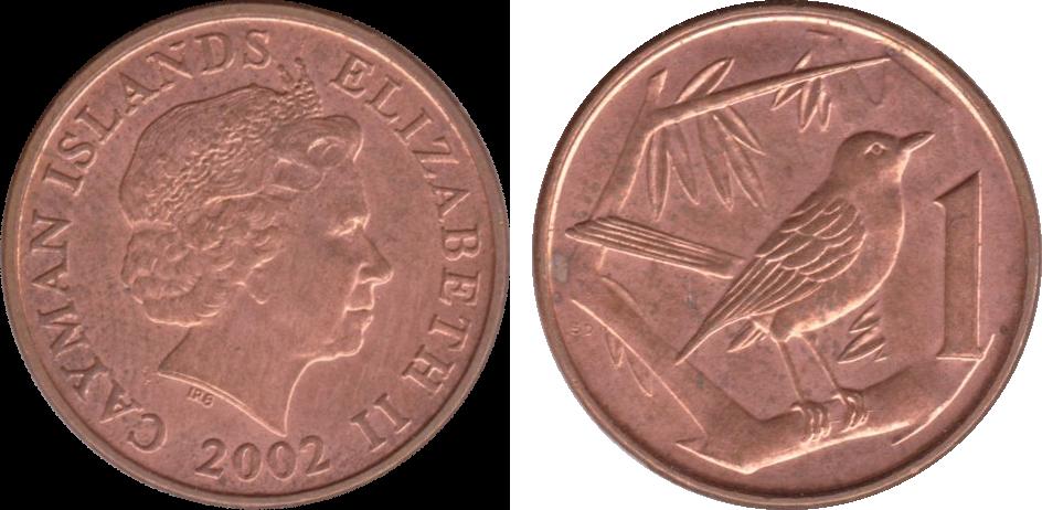 Cayman Islands 1 Cent Coin
