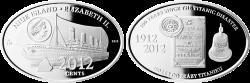Niue 2,012 cents 2012 CM
