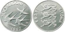 Estonia 100 krooni 1992