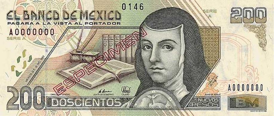 Mexican 200 peso banknote | Currency Wiki | FANDOM powered