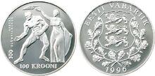 Estonia 100 krooni 1996