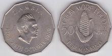 Zambia 50 ngwee 1969 FAO