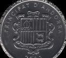 Andorran 1 cèntim coin