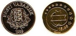Estonia 15.65 kroon 1999