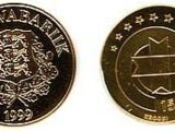 Estonian 15.65 kroon coin