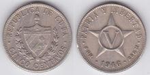 Cuba 5 centavos 1946