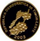Coins 50 Cent Timor-Leste obv