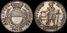 Fribourg 1813 4 Franken