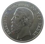 5 Mark Baden 1902 Friedrich I