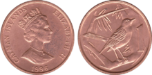 Cayman Islands 1 cent 1996