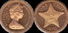 Bahamas 1 cent 1970
