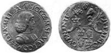 Gian Sforza testone w o regent