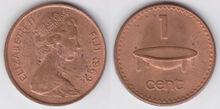 Fiji 1 cent 1969