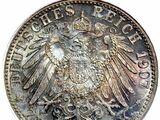 German 2 mark coin (Gold mark)